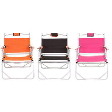 Beach Chair Fishing Outdoor Furniture Cheapest High Quality in Stock Coffee Foldable Stool Double Layers Oxford Camping Chair(China)
