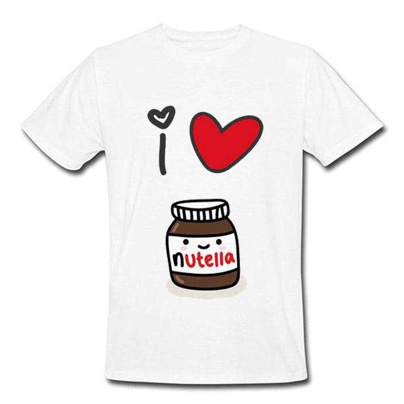 T-Shirt Love Nutella Life Chocolate Tennised Golfed Baseball Men Gift Jogger SH 70