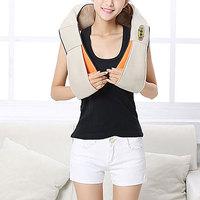 1PC Electrical Shiatsu U Shape Neck Back Shoulder Body Massager Infrared Heated Kneading Car Home Massage