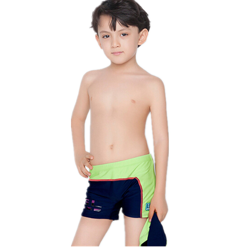 Boys Swim Trunks Help your little guy ace swim class with boys' swim trunks. Whether the family is headed to the pool or a beachside vacation, keep his collection of swimwear up-to-date with the latest styles from brands like Quicksilver and Volcom.