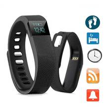 2016 Simple Cheap Bluetooth Sport Bracelet Health Sleep Monitor 4.0 Smart Bracelet Step Counting For Smart Phone Black TW64