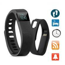 2016 Simple Cheap Bluetooth Sport Bracelet Health Sleep Monitor 4.0 Smart Bracelet Step Counting For Smart Phone Black TW64