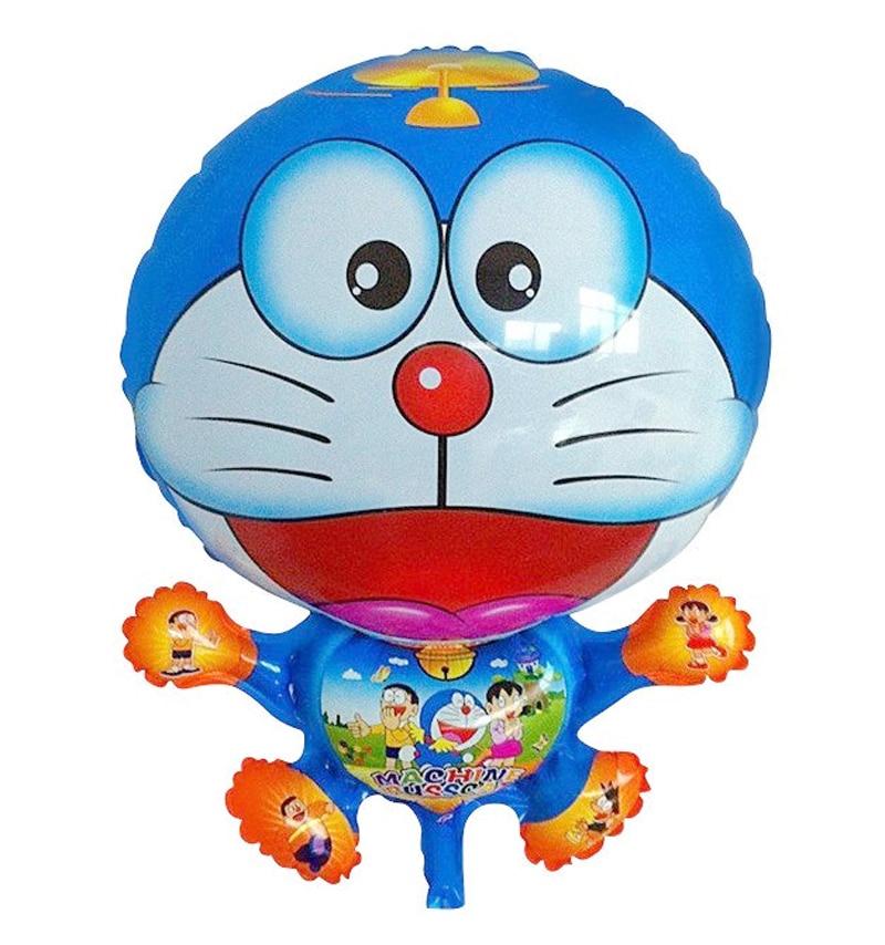 mylar balloons baby inflatable cat toys ballon baloon helium children birthday party decoration supplies doraemon party balloons