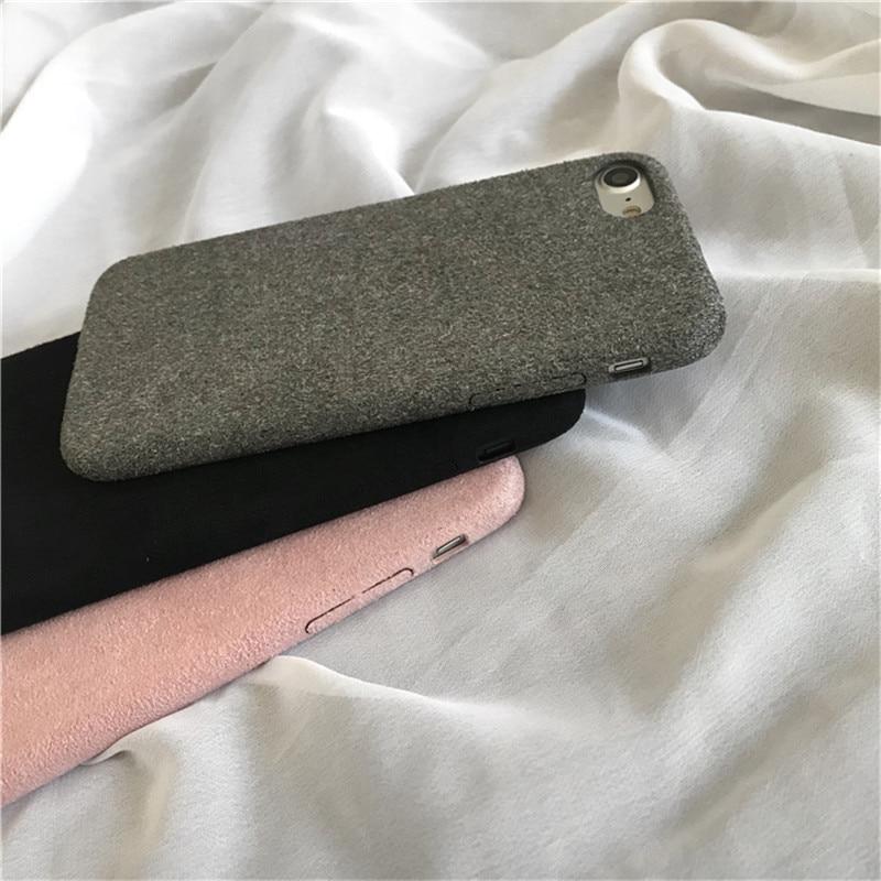 LUDI շքեղ Nubuck Suede կաշվե տուփ iphone 5 / 5s / SE / 6 - Բջջային հեռախոսի պարագաներ և պահեստամասեր - Լուսանկար 4