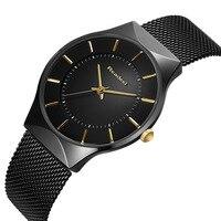 Readeel Watch Men Steel Waterproof Clock Mens Watches Top Brand Luxury Fashion Casual Sport Quartz Wristwatch