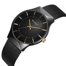 Часы Readeel Watch Мужчины Стальные водонепроницаемые часы Мужские часы Лучшие бренды Роскошные модные повседневные спортивные кварцевые наручные часы Relogio Masculino