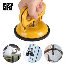 GT Aluminum Alloy Suction Cup Hot Red Suction Cup Dent Puller Remover of Glass Car Lift Handle Single Double Claw Suction Cup aluminum single claw two two claw three claw glass sucker tile floor suction extractor suction cup