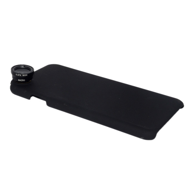 Set of 4 Lenses With Phone Cover for iPhone