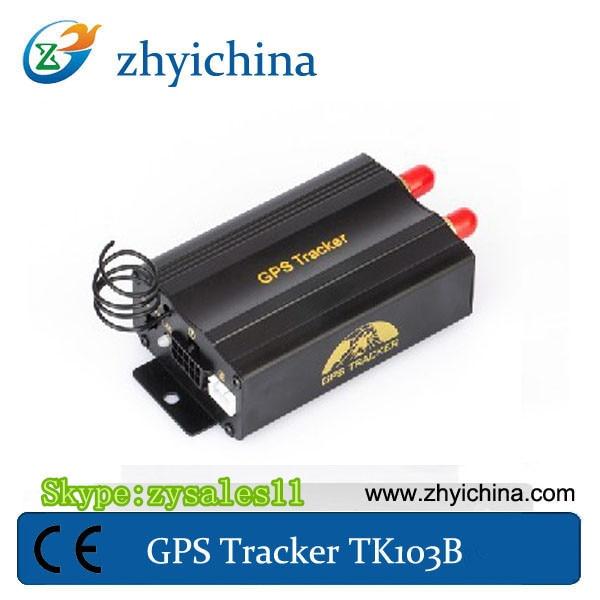 US $49 47 |mini hidden satellite phone sos panic button sim gps tracker  cell phone sim card gps tracker TK103B-in GPS Trackers from Automobiles &