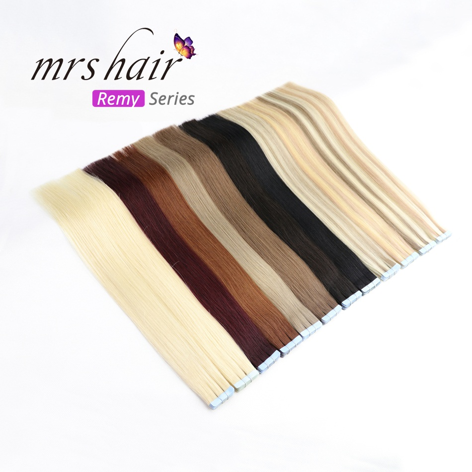 Mrs Hair Remy Tape In Hair Extension 14