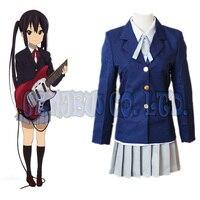 Anime K-ON! hirasawa yui akiyama mio cosplay kostümleri cadılar bayramı kadınlar okulu kız üniforma dress 4 adet seti