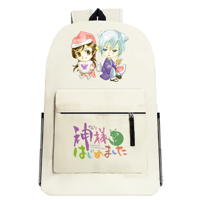ФОТО Kamisama Kiss Cosplay Backpack Anime Cartoon School Bag Unisex Men Women Travel Bookbag Middle Student Schoolbag Mochila