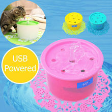 2019 NEW Automatic Pet Water Drinking Filter Fountain Bowl Dogs Cats Drinker Products