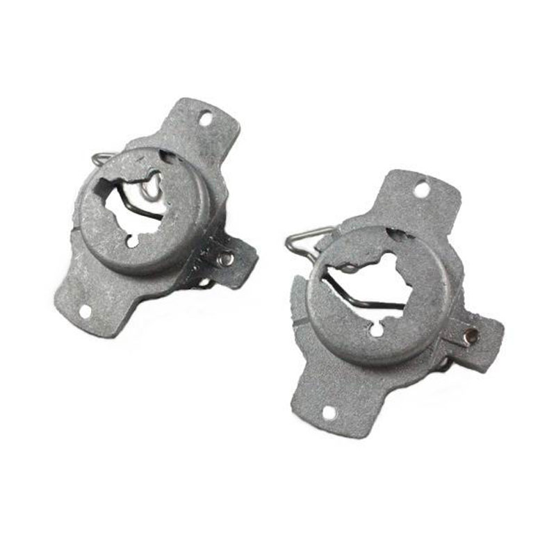 KE LI MI 2 Pieces For Mercedes Benz 320 Bracket base H1 HID Bulbs adapters converter Xenon H1 Lamp retainers clips Aluminum in Base from Automobiles Motorcycles