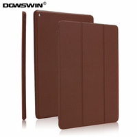 Case For IPad Pro 12 9 Dowswin PU Leather Tri Fold Smart Cover Can Wake Up