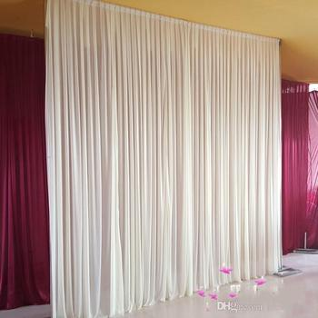 3m*3m backdrop for Party Curtain festival Celebration wedding Stage Performance Background Drape Drape Wall valane backcloth