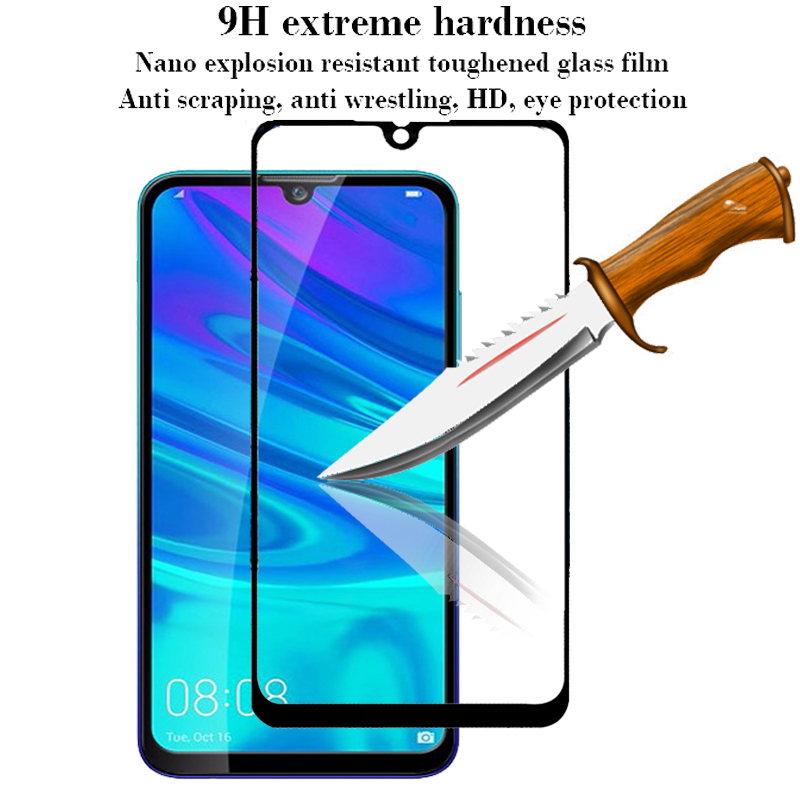 Image 5 - Tempered Glass For Huawei P smart 2019 Glass Screen Protector on For Huawei P smart 2019 Psmart Z P smart Z Protective glas Film-in Phone Screen Protectors from Cellphones & Telecommunications