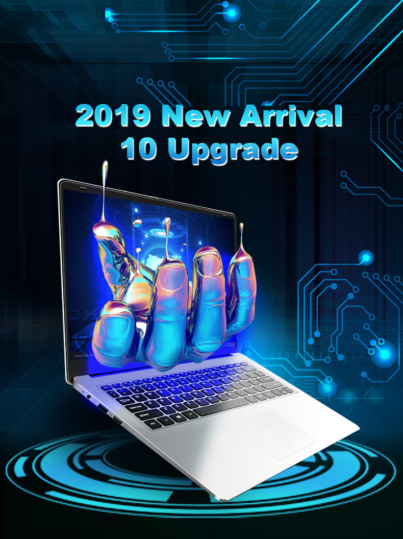 YEPO 737A Laptop 15.6 inch Ultrabook Gaming Laptops Intel Celeron J3455 Notebook Computer With 8GB RAM 256GB 512GB 1TB SSD ROM 4