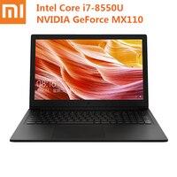 2019 New Xiaomi Mi Ruby Notebook 15.6 inch Laptop Windows 10 Intel Core i7 8550U Quad Core 1.8GHz 8GB 512GB MX110 Notebook PC