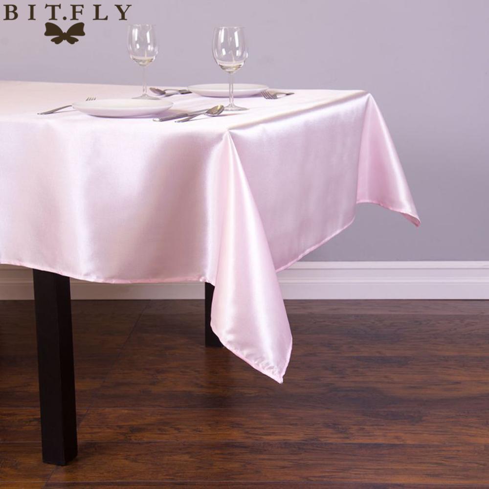 145cmx304cm satin table cloth rectangular tablecloth for Deco table cuisine