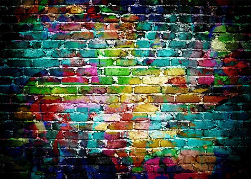 Brick Wall Studio Photography Backdrops Children Photo Props Baby Background Vinyl 7x5ft or 5x3ft JIEJP040 аккумуляторная дрель makita ddf456rfe