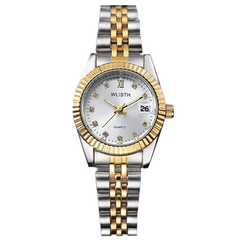 WLISTH Fashion with Diamond Watch for Women 354 1 silver