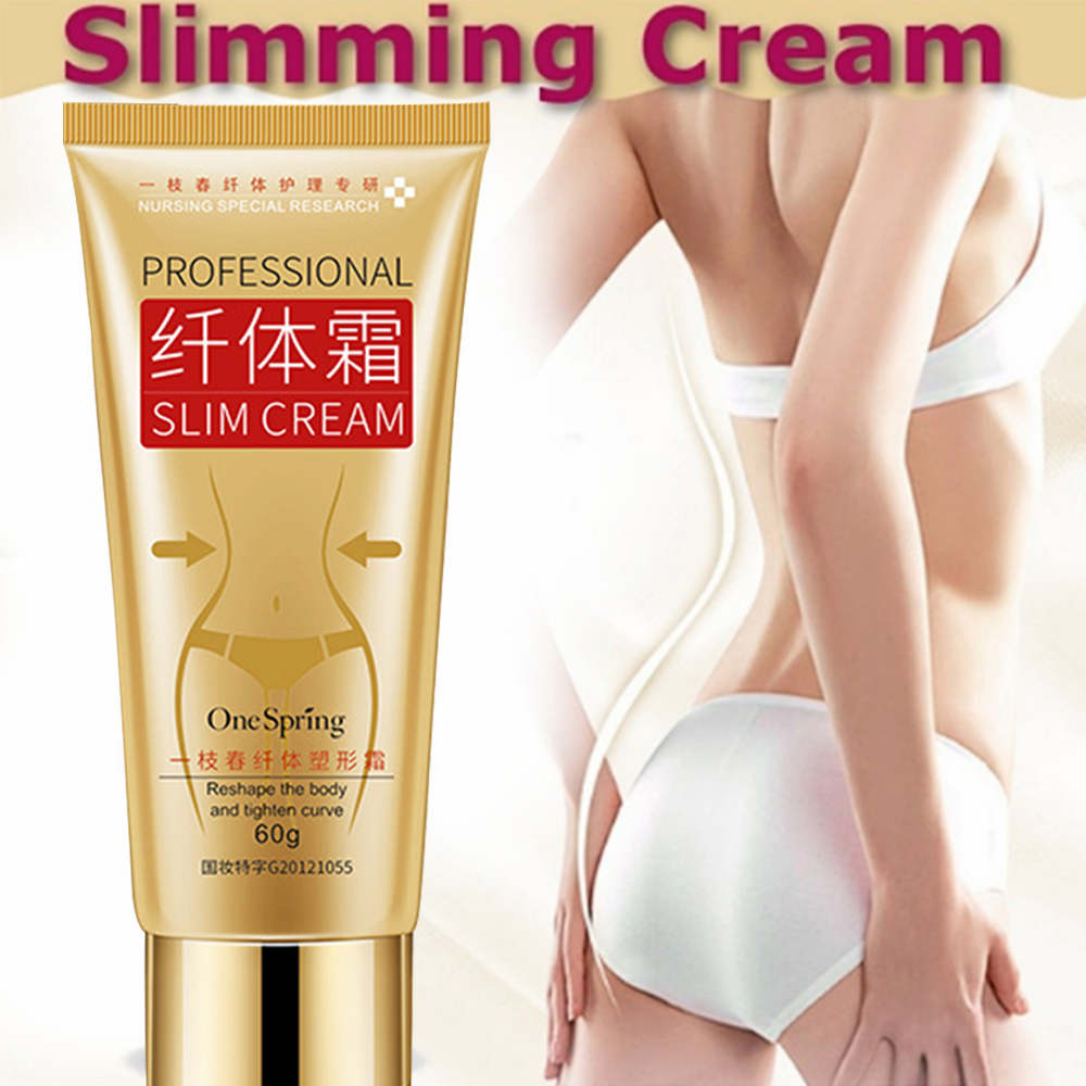 Women Body Tight Shaping Slimming Massage Cream Fat Burning Weight Loss Creams 60g Slimmin