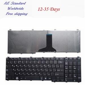Image 1 - Nga laptop Bàn phím DÀNH CHO Laptop Toshiba Satellite L670 L670D L675 L675D C655 L655 L655D C650 C650D L650 RU Mới Đen