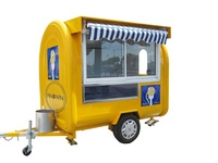 Фургончик с едой H 220/прицеп/Мороженое Грузовик/закуски тележки для продажи