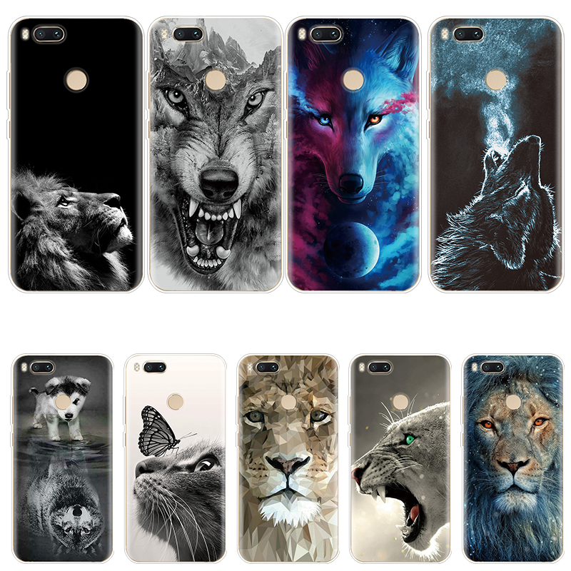 Animal-Coque Tiger-Fundas Redmi Note 8-Cover 7-Case 4-Global 5-Plus Xiaomi 5A 6A