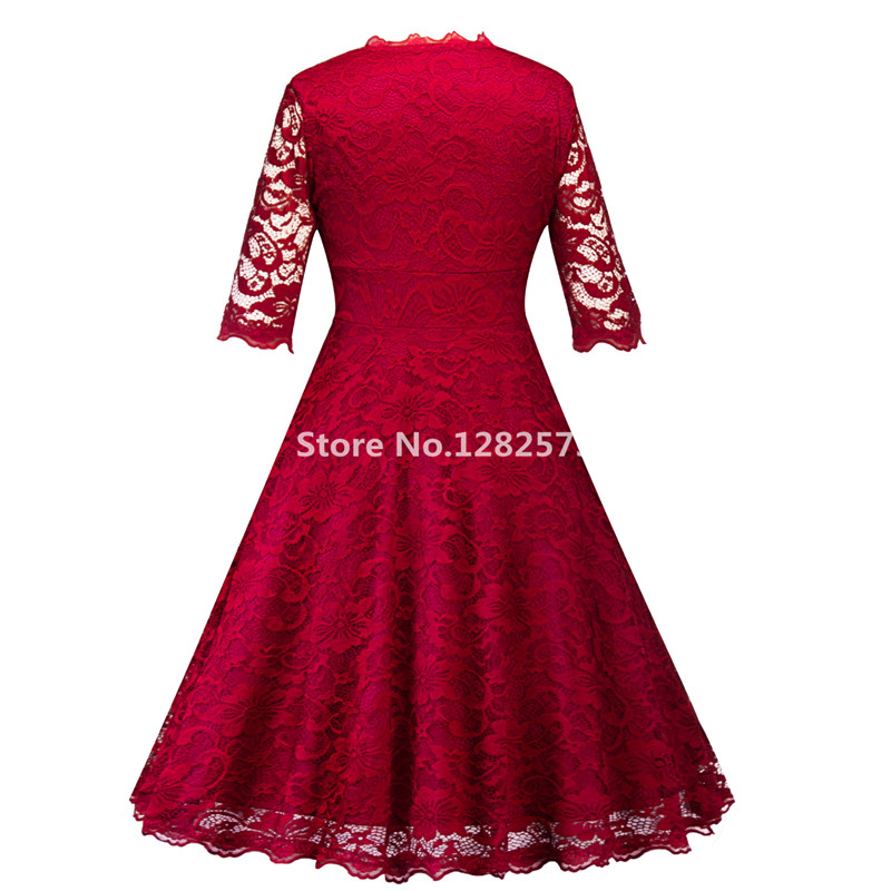 In Stock Cheap Simple Dark Red Cocktail Dresses Elegant Short