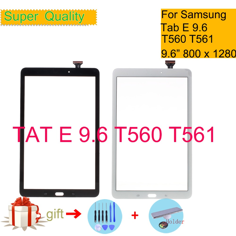 Original Touchscreen For Samsung Galaxy Tab E 9.6 SM-T560 SM-T561 T560 T561 Touch Screen Digitizer Panel Sensor Tablet Glass