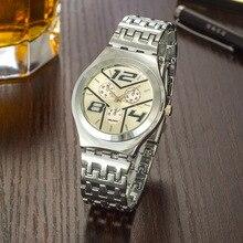 3 Cores Relógio de Quartzo Forma Y Dial Women Watch Lady Relógio Charme Pulseira De Metal zegarki damskie