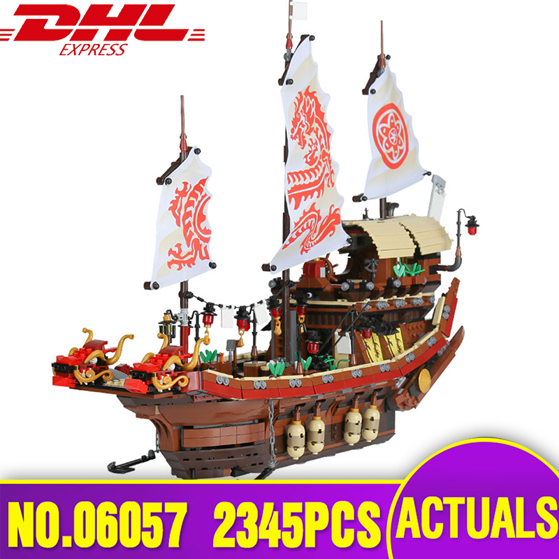 Lepin 06057 Genuine Ship Series The Destiny`s Bounty Set 70618 Building Blocks Bricks Educational Toys As Birthday Gift 2345Pcs lepin 22001 pirate ship imperial warships model building block briks toys gift 1717pcs compatible legoed 10210