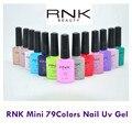 (10ml 15pcs/lot) RNK Peel Off  Gel Nail Polish bling nail polish