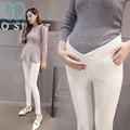 1611# Low Waist Skinny Belly Maternity Legging 2016 Korean Fashion Spring Autumn Thin Pencil Pregnancy Pants For Pregnant Women