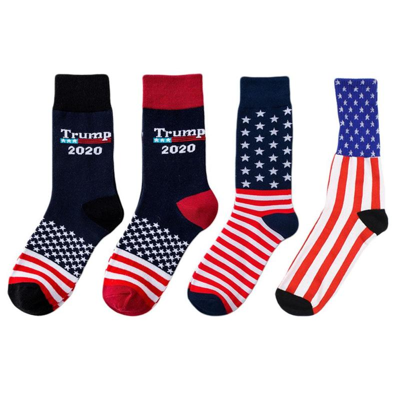 Donald Trump President   Socks   2020 Make America Great Again Republican Stocking Star Stripe   Socks