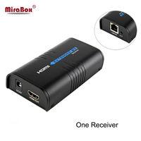 HDMI Extender Sender Ricevitore HDMI Extender Ethernet Rete Su Cat5e/CAT6 RJ45 Vendite Dirette Della Fabbrica