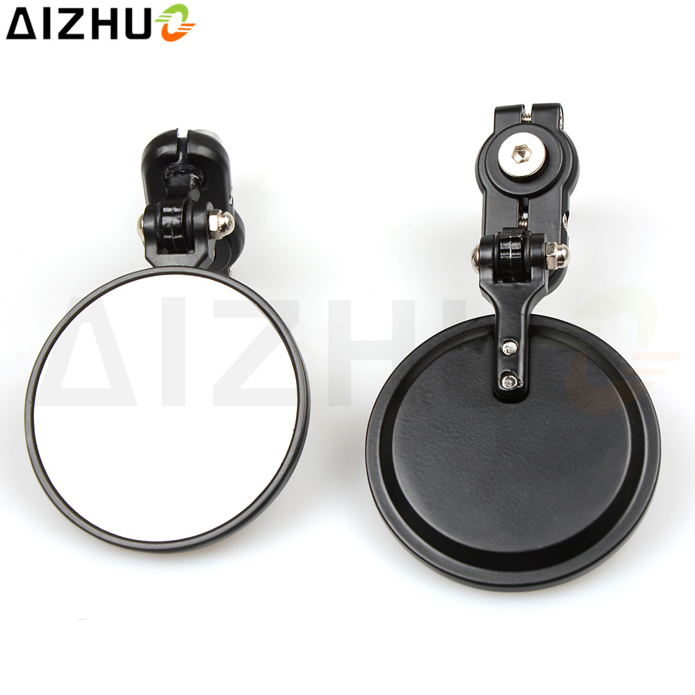 Universal 7 8 39 39 22mm Motorcycle bar End Mirror Rearview side Mirror For Suzuki DRZ400 DRZ 400 GSXR 750 1000 1100 600 K7 K8 K9 in Side Mirrors amp Accessories from Automobiles amp Motorcycles