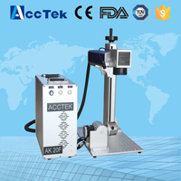 Germany Fiber Laser Generator 20Wmini Laser Metal Engraving Machine Portable Fiber Laser Marking Machine 3d Marking
