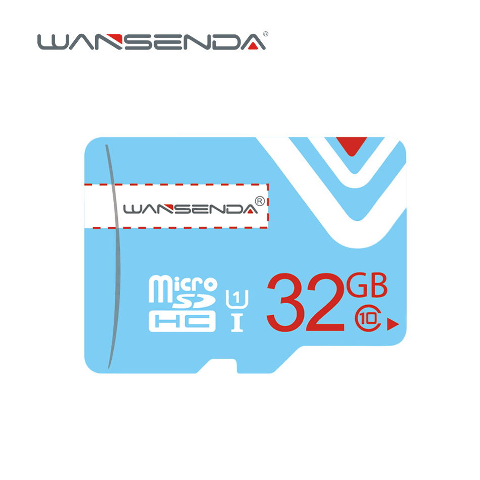 Wansenda Memory Card 64GB 32GB 16GB 8GB 4GB Micro Sd Card For Mobile Phone Tablet PSP With Free Adapter+retail Package