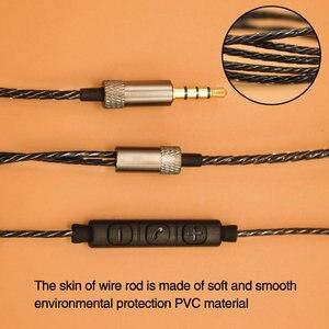 Image 4 - TRANSCTEGOแจ็ค 3.5 มม.DIYสายหูฟังControllerเปลี่ยนหูฟัง 18 แกนทองแดงลวด