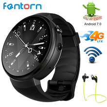 Fentorn LEM7 Smart Watch Android 7.1.1 Smartwatch 4G LTE Network Support Wifi Bluetooth Smartwatch Phone 1GB + 16GB Memory