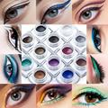 3.3*3.3*2.5cm Huamianli 12 Colors Eye Liner Waterproof Eyeliner Pearlescent Matte New Top Fashion Anne