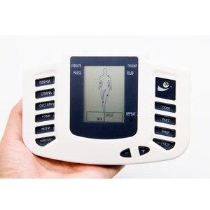 Image 3 - Di tutto il Corpo Elettrico Stimolatore Muscolare Relax Dispositivo di Terapia di Agopuntura Impulso Decine Massaggiatore Con 32 Pastiglie