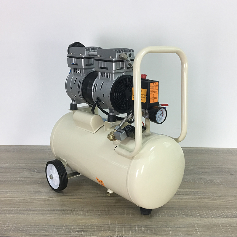 30 liters air compressor for mobile phone lcd repair with water filter compressor no need oil air compressor