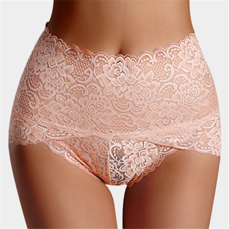 hirigin New Fashion Womens Lace Floral Panties Female Solid Sexy High-Rise Underpant Women's Intimates Underwear