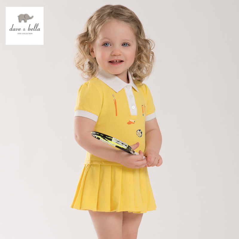 Aliexpress.com : Buy DB3938 dave bella summer baby teenis dress ...