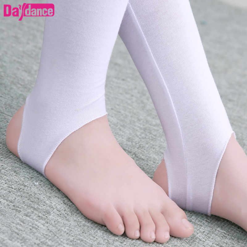 e52bc50a9672a5 ... Girls Kids Ballet Stirrup Tights Pantyhose Child Dance Leggings Cotton  Spandex Yoga Gymnastics Dance Pants ...