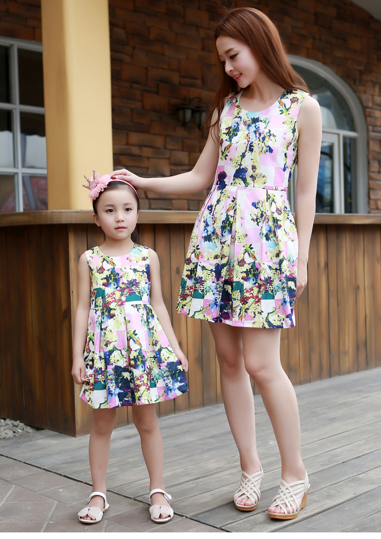 Fashion For Me: Aliexpress.com : Buy Matching Mother Daughter Clothes